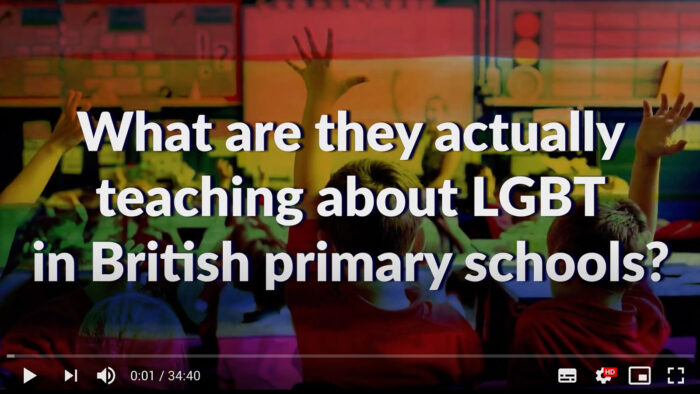 What are they actually teaching about LGBT in UK Primary Schools?